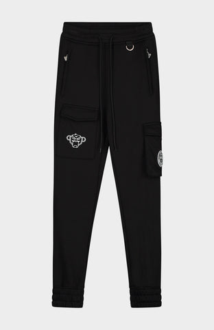 BLACK BANANAS POCKET JOGGER JUNIOR BLACK