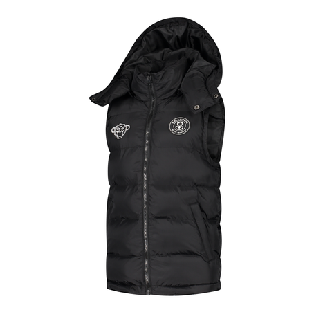 JR F.C. BODYWARMER  JUNIOR BLACK