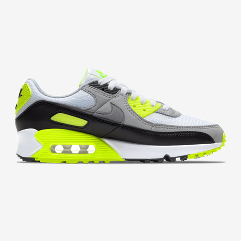 NIKE AIR MAX 90 WIT/NEON HEREN