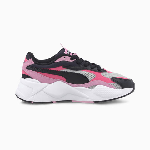PUMA RS-X³ BRIGHT JUNIOR ZWART/ROZE