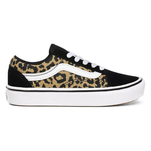 VANS COMFYCUSH OLD SKOOL LEOPARD KIDS