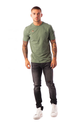 PETE POCKET TEE GREEN