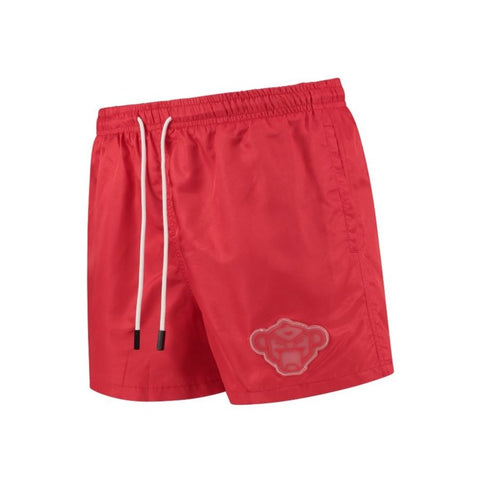 PORTO PATCH SWIMSHORT RED