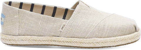 TOMS NATURAL PEARLIZED METALLIC WOMAN