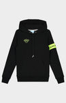 BLACK BANANAS JUNIOR CAPTAIN HOODY BLACK/YELLOW