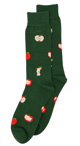 ALFREDO GONZALES SOCKS APPLES GREEN