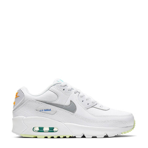 Nike Air Max 90 LTR (GS) wit/grijs/geel
