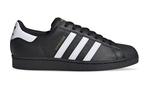 ADIDAS SUPERSTAR ZWART/WIT
