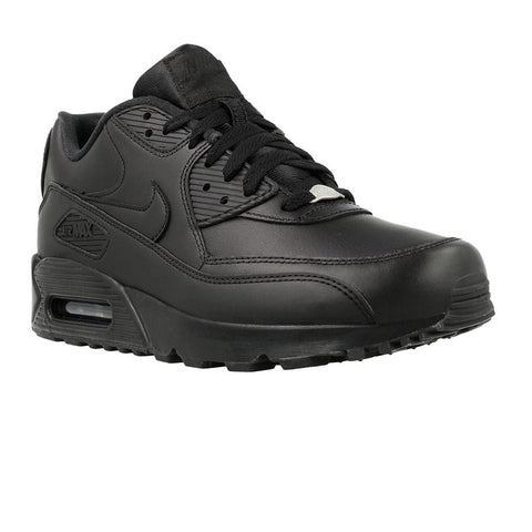 nike air max zwart heren leer