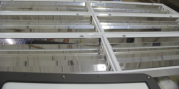 AEI Lighting fixtures with reflectors, sensors and other options