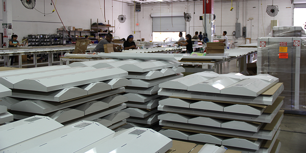 AEI Lighting facility in Mesa, Arizona -- Made In The USA LED Lighting Fixtures