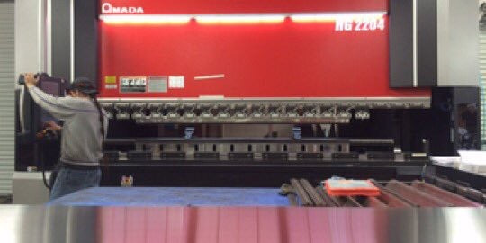 AEI Lightings Amada HG-2204 Press Brake