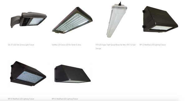 AEI Lighting's DLC Listed LED Lighting Fixtures include vapor tight, wall packs, high bay, retrofits, troopers and many more.