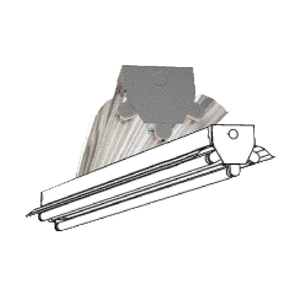 T8 Fluorescent T8ih 3 6 Lamp 4 8 Foot High Bay Fixture