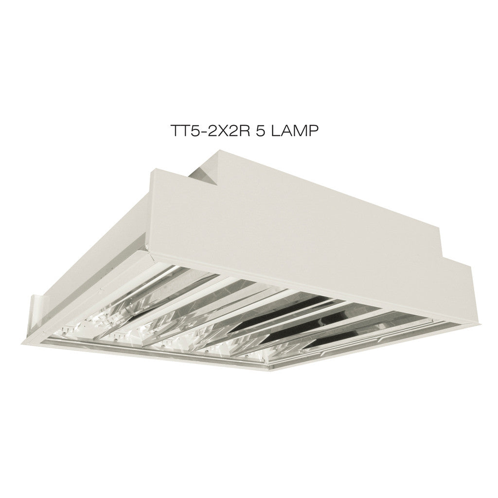 T5ho twin tube tt5 2x2r fixture aei lighting 877 aei lite t5ho twin tube fluorescent 3 4 5 lamp recessed mount lighting fixtures mozeypictures Images