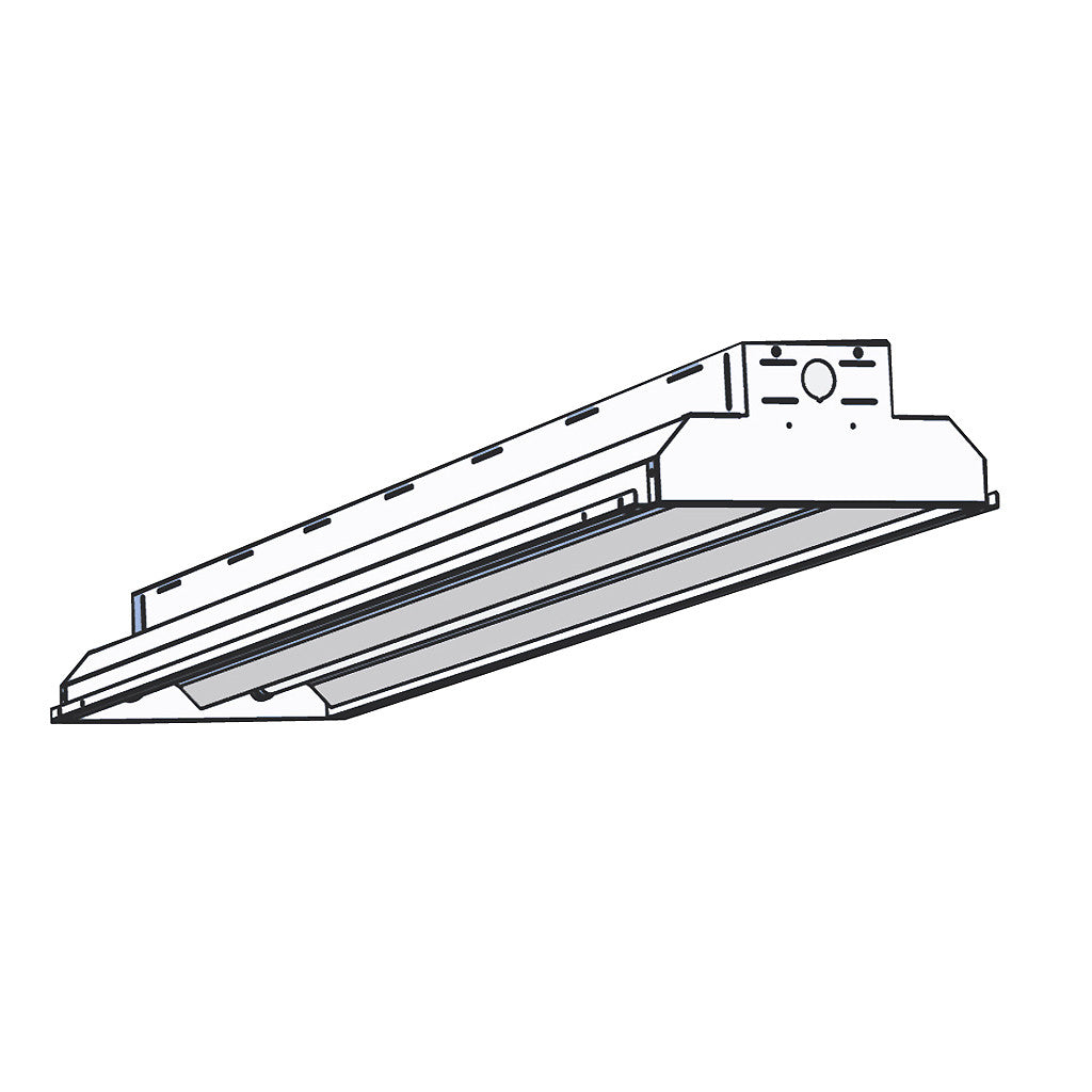 AEI Lighting : T8 Fluorescent Industrial Lighting Fixtures