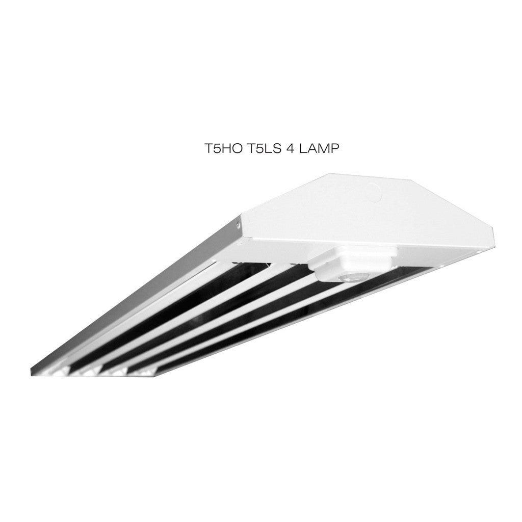 T5ho Fluorescent T5ls 2 3 4 Lamp Linear Lighting Fixture With Sensor