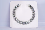 21pcs Grey Color 8-9mm Bracelet Round AAA quality