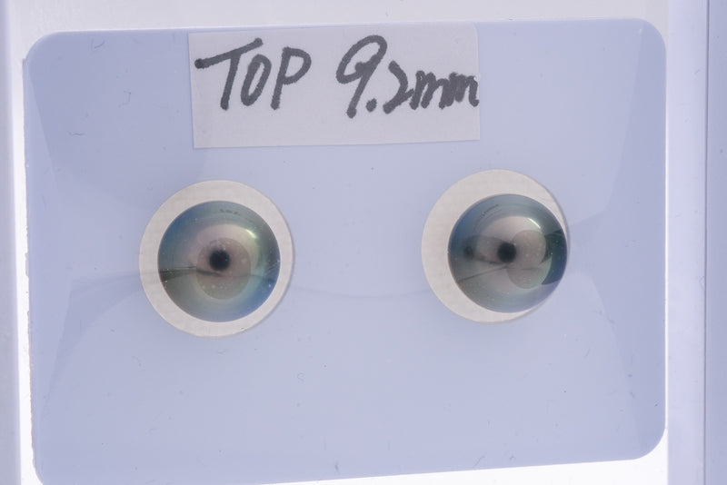 9mm Matched Pearl Shinny Green Color TOP quality