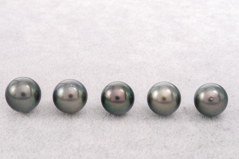 20pcs Round pack - 11mm Peacock AAA quality