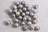 30pcs pack 11-12mm Light Mix Semi-Baroque A+ Tahitian Pearl