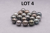 LOT 4 - R/SR - AB - LIGHT Mix -  8-13mm - BUY Tahitian Pearls jewellery wholesale - CMWPEARLS.COM