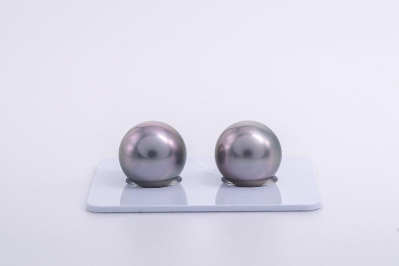 12mm Matched Pearl Light Green Cherry Color TOP quality