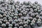 Royal Green 9mm Tahitian Pearls - Semi-Round (AAA quality)