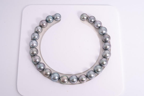 24pcs Grey Tone Pastel 8mm Bracelet Round TOP quality