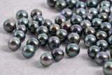 8mm Green Blue - Near Round AA quality Tahitian Pearl