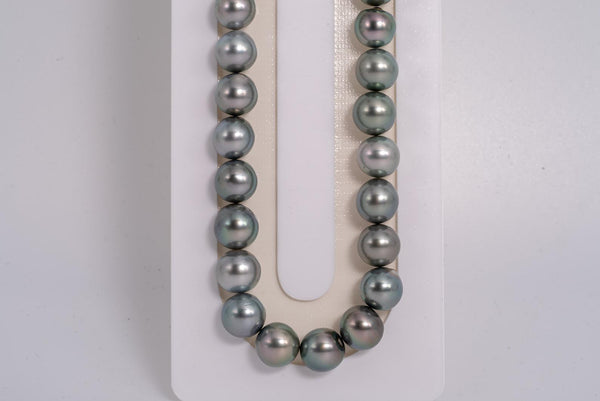 48pcs Light Pastel Color Necklace - NR/SB 9mm AA quality Tahitian Pearl