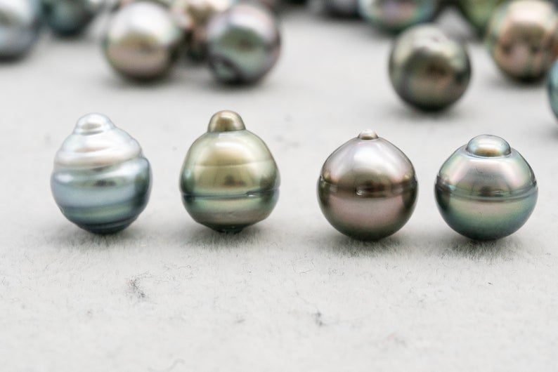 Tahitian Pearl - Circle (CL) - 11mm - Pastel - AA quality - BUY Tahitian Pearls jewellery wholesale - CMWPEARLS.COM
