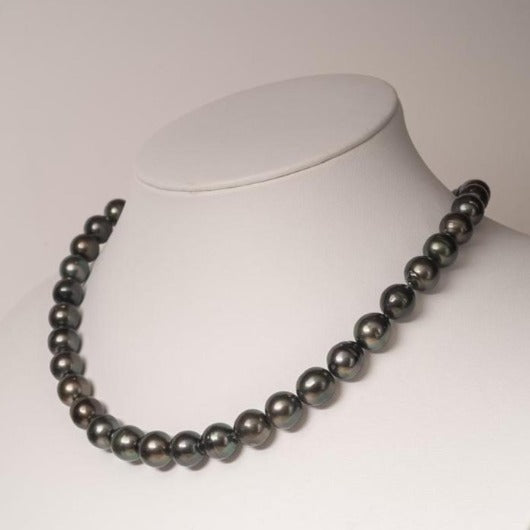 Circle necklace Strand 8-10mm Tahitian Pearls - BUY Tahitian Pearls jewellery wholesale - CMWPEARLS.COM