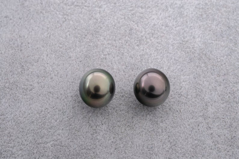 5pcs TOP quality - Oval shape Tahitian Pearl
