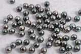 8mm Green - Near Round AA quality Tahitian Pearl