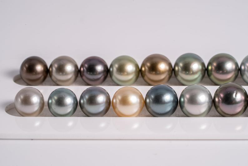 "41pcs ""X'Mas Preparation"" Multi Necklace - Round 8-10mm AA quality Tahitian Pearl"