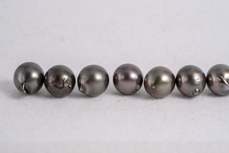 13mm Olive Green Baroque AAA quality Tahitian Pearl