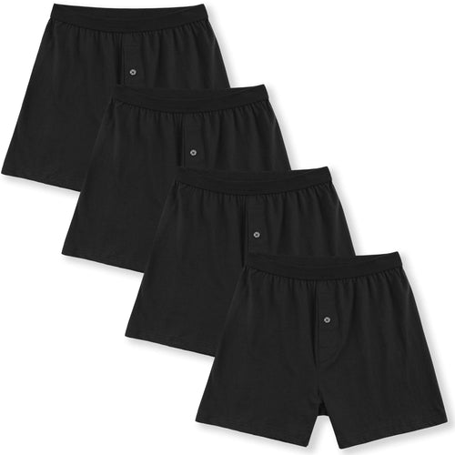 black Men's Boxers Underwear