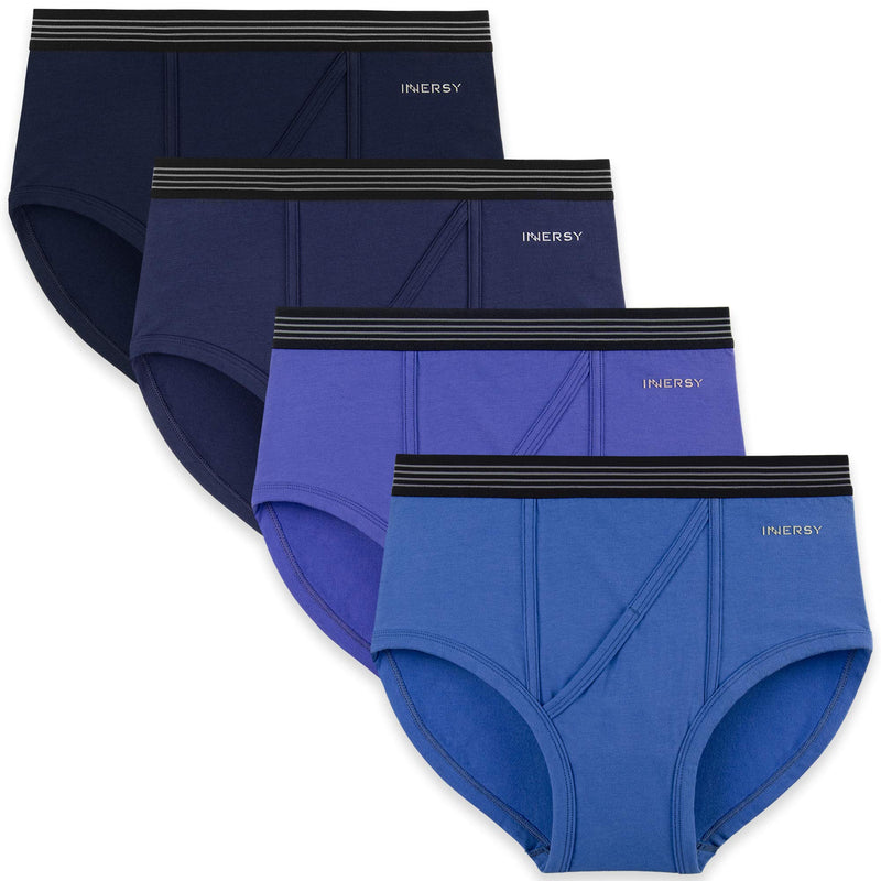 men's briefs underwear 4 pack blue