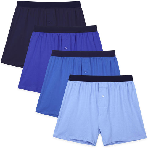 Men's Boxers Underwear assorted blue