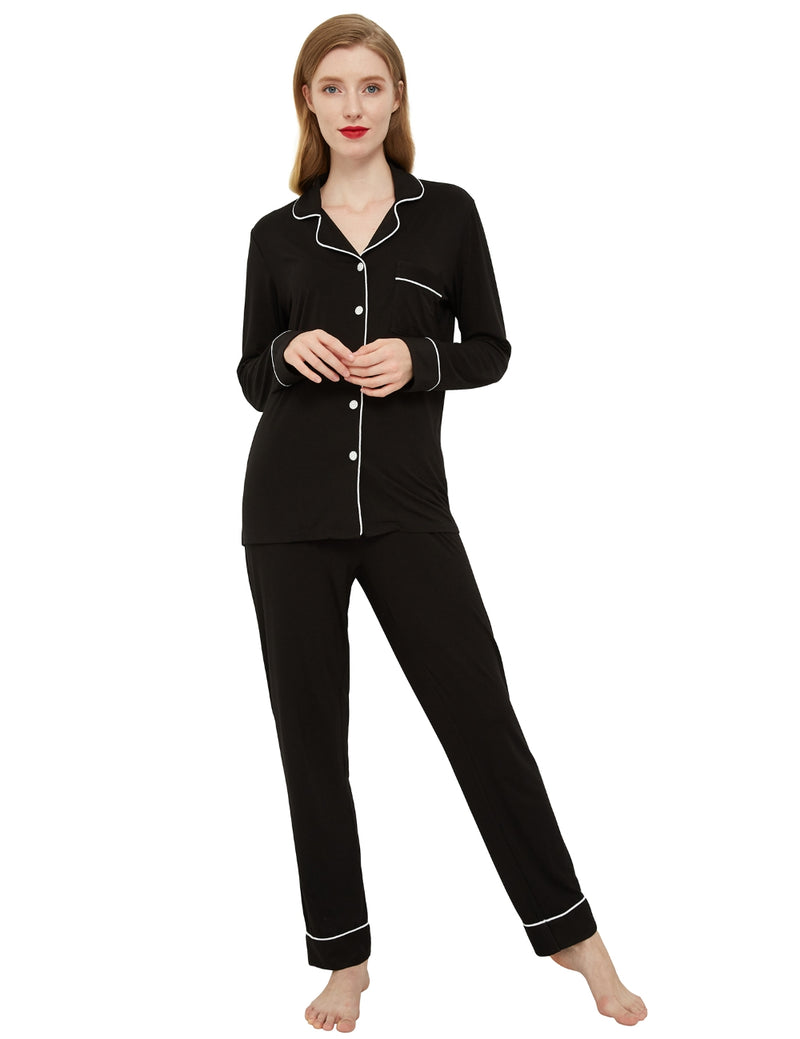 model in women's loungewear