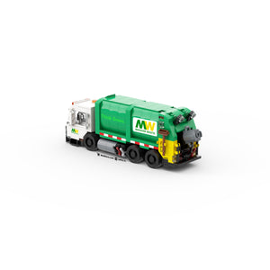 LEGO City Garbage Truck Instruction (6-Wide)