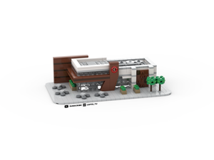 LEGO Micro Chipotle Restaurant Instructions