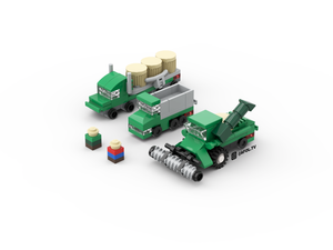 LEGO Micro Farm Vehicles Instructions