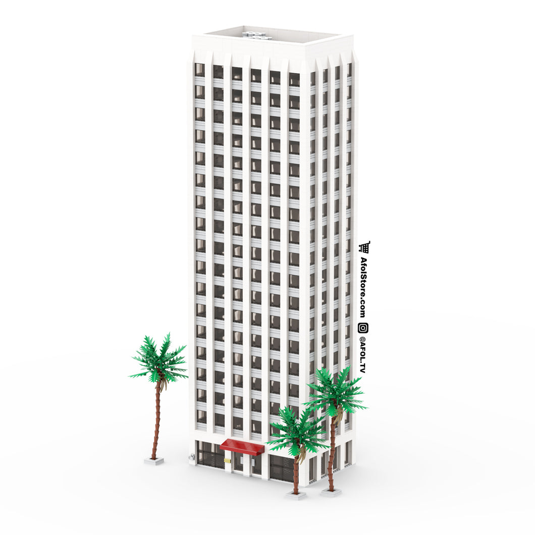 LEGO 1970s-Style Office Tower Instructions