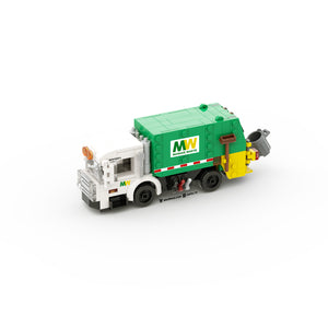 LEGO City Garbage Truck Instruction (4-Wide)