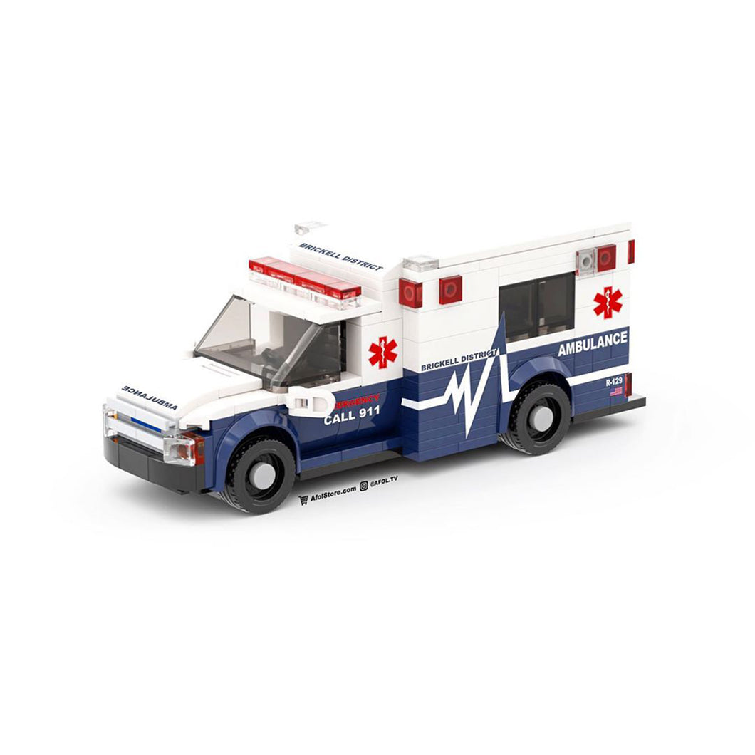 LEGO 6-Wide Ambulance Parts File