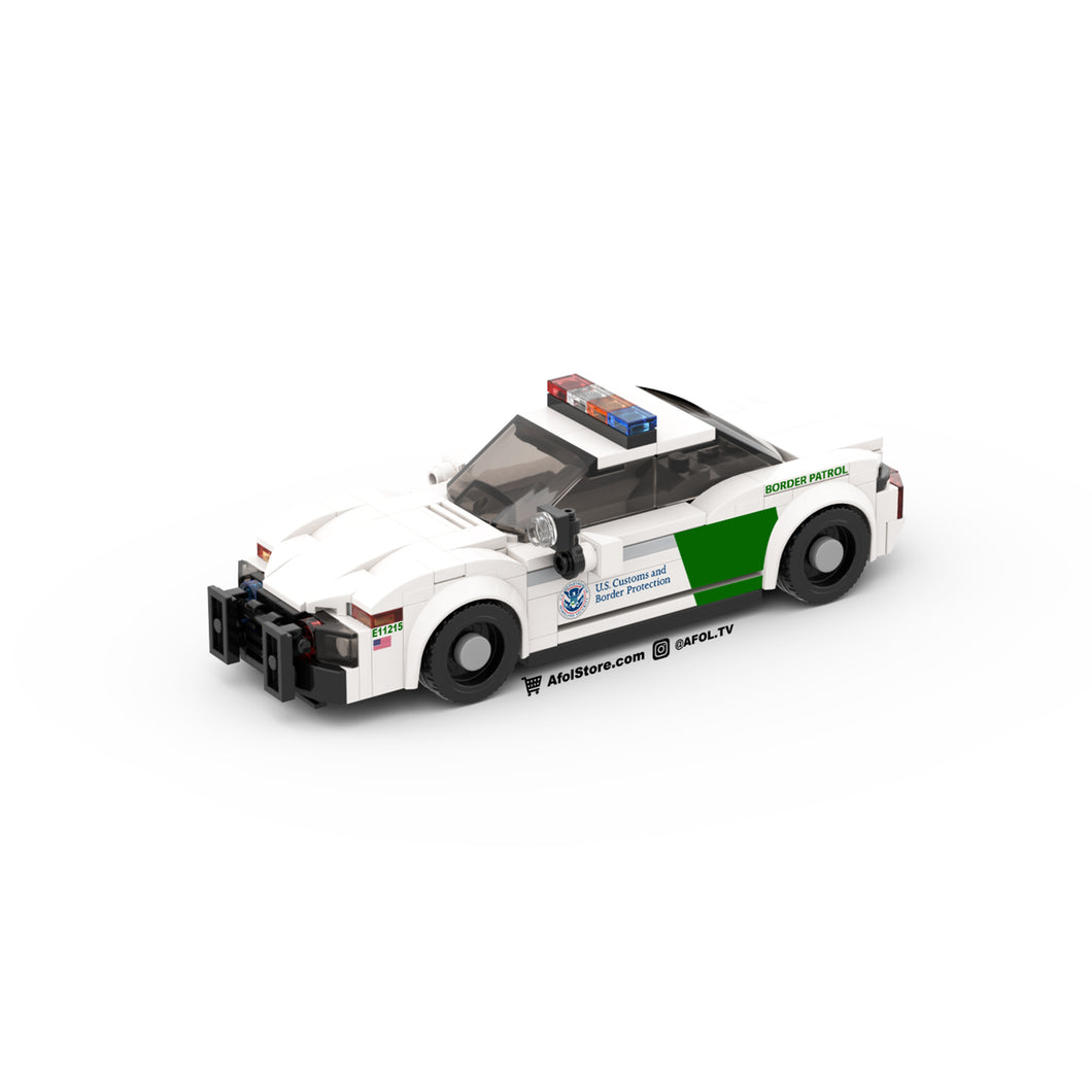 LEGO Border Patrol Cruiser Instructions