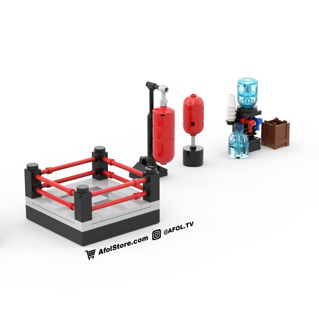 LEGO Boxing Gym Equipment Instructions