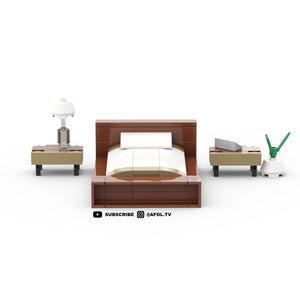 LEGO California King Bedroom Set Instructions